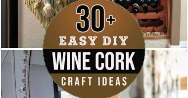 30+ Easy DIY Wine Cork Craft Ideas For Impressive Home Decoration