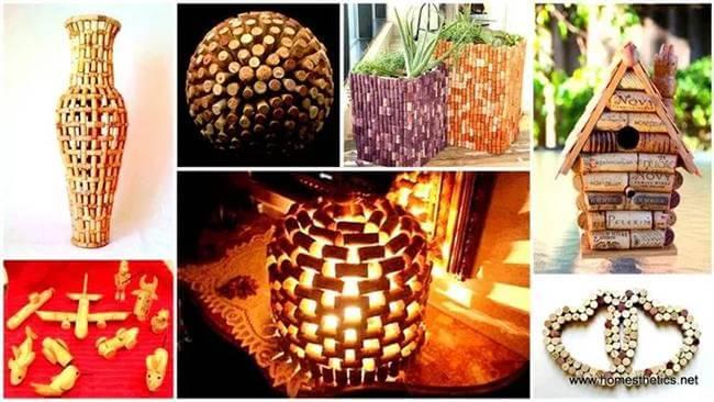 30+ Easy DIY Wine Cork Craft Ideas For Impressive Home Decoration