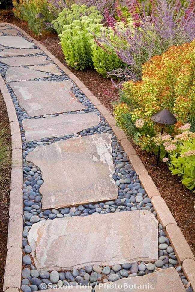 25 Easy-To-Imitate Garden Path And Walkways For Amazing Garden