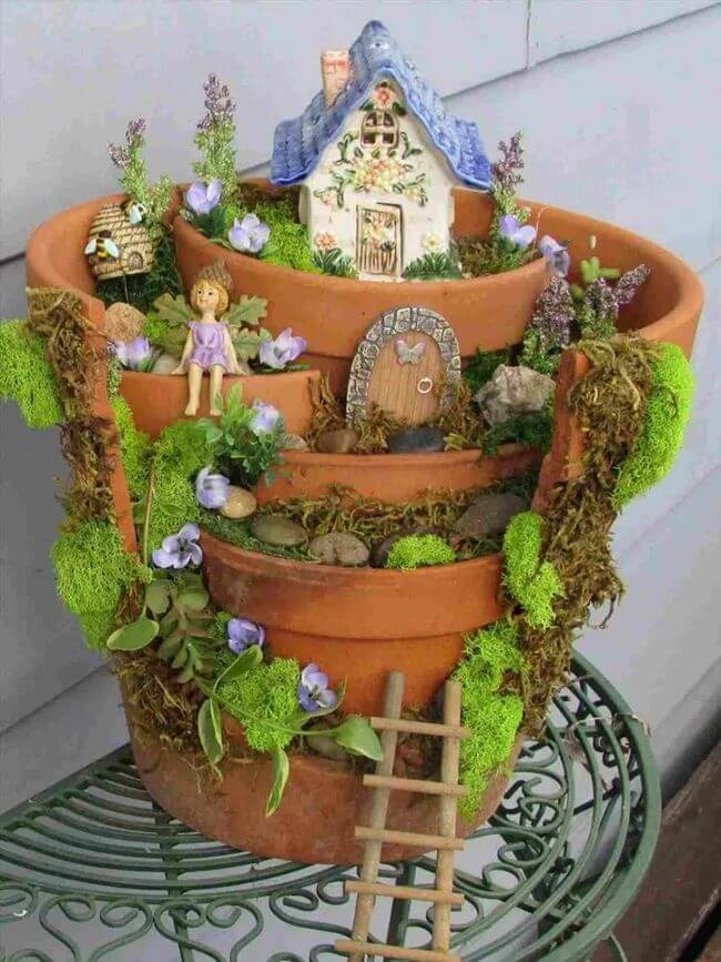 30 Enchanting Fairy Garden Ideas To Add A Little Magic To Your Home