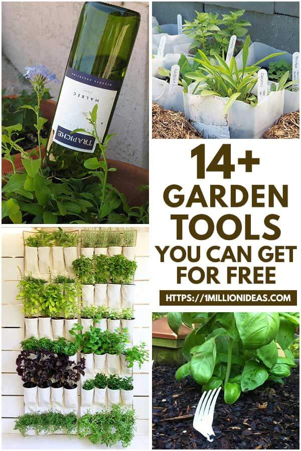 14 Garden Tools You Can Get For Free