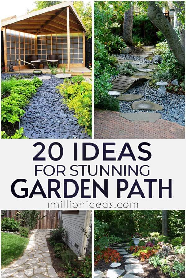 20 Ideas For Stunning Garden Path