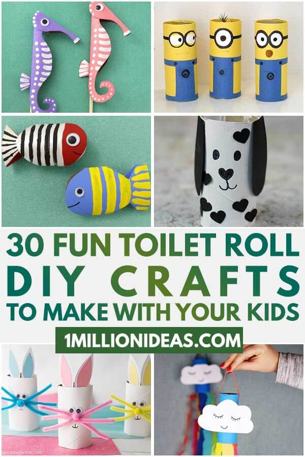 30 Fun Toilet Roll DIY Crafts To Make With Your Kids