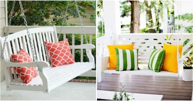 15 Fantastic DIY Swings For Your Porch