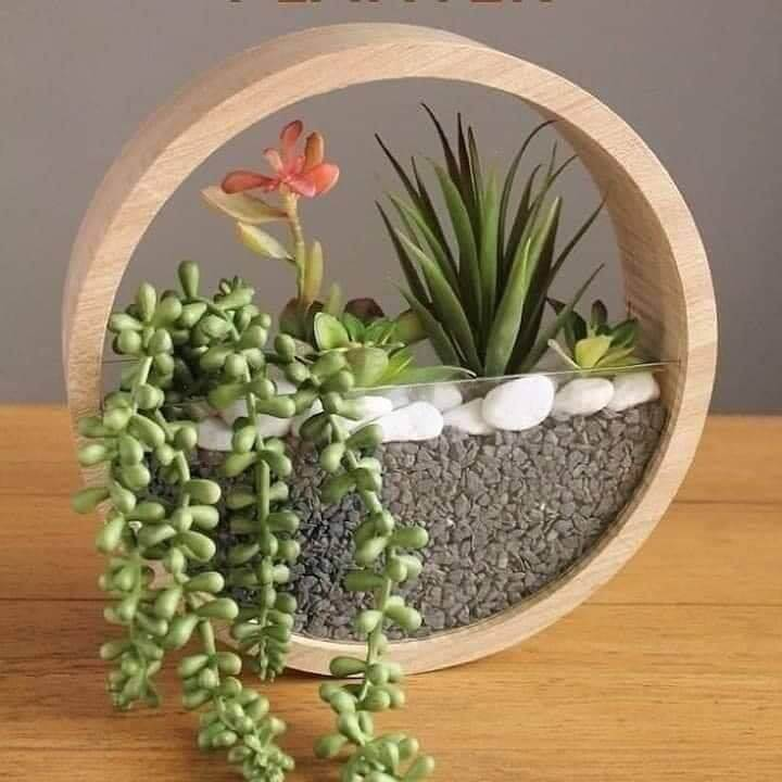 How To Make Hanging Wall Rounded Planter