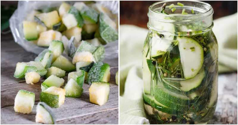 13 Best Ways To Preserve Zucchini