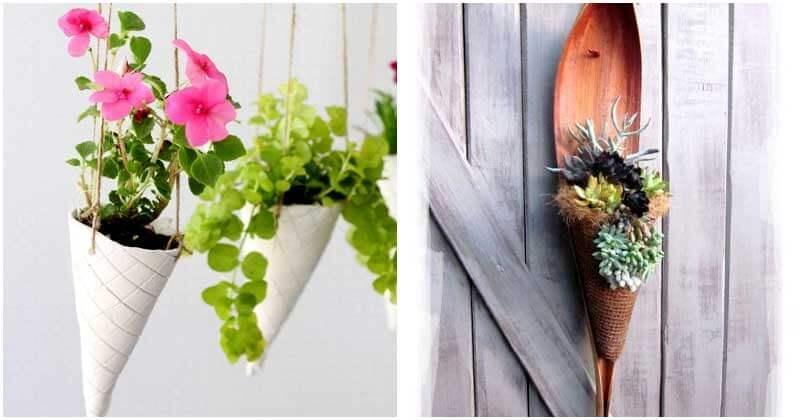 15-Cute-DIY-Ice-Cream-Cone-Planters-ft