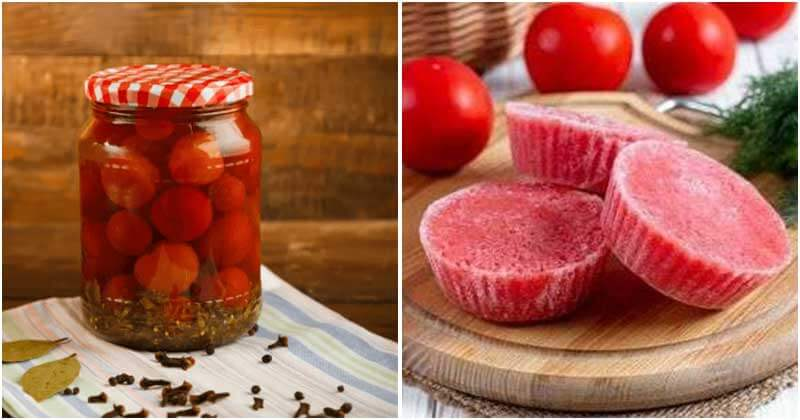 Best Ways To Preserve Tomatoes That You Should Know