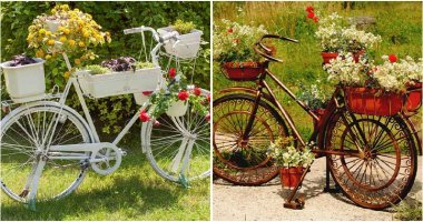27 Fabulous Bicycle Planter Ideas In the Garden