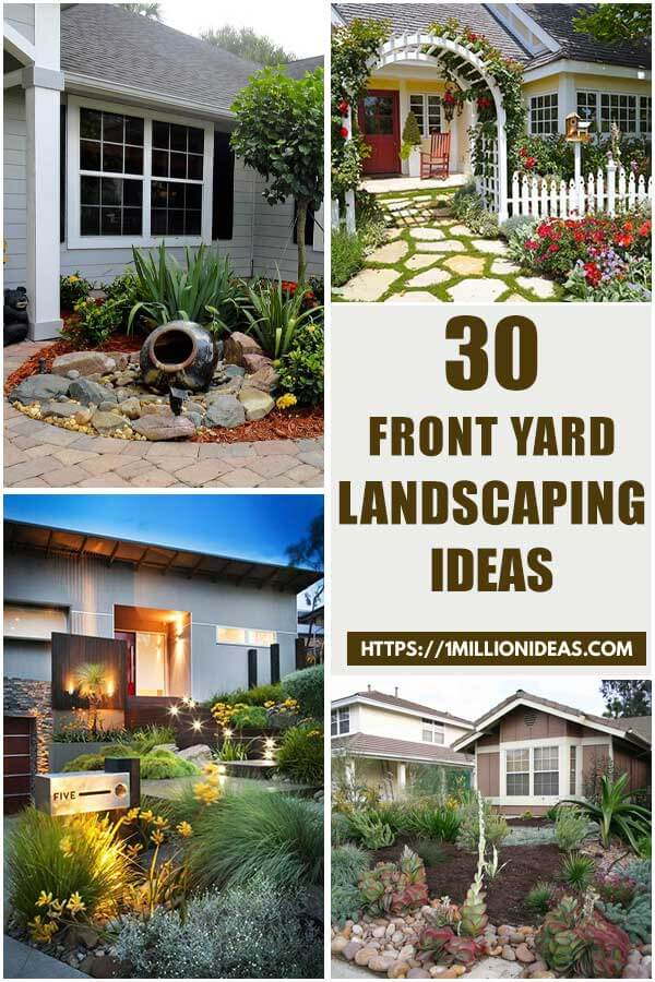 30 Beautiful Landscaping Ideas for Your Front Yards
