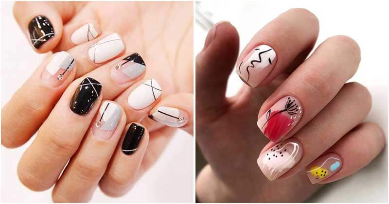 30-Unique-Abstract-Nail-Designs-To-Mesmerize-You-ft1