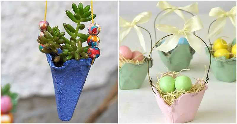 14 DIY Egg Carton Uses