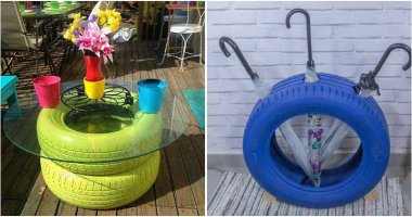 25 Ways To Reuse Old Tires In Your Garden