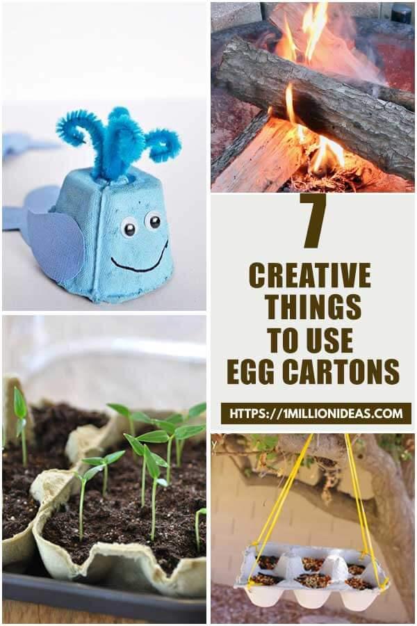 Creative Ways To Use Egg Cartons