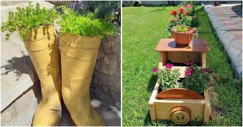 Easy and Inexpensive DIY Garden Designs