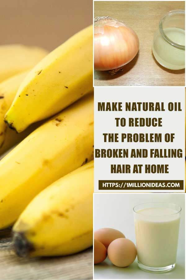 Make Natural Oil To Reduce The Problem Of Broken And Falling Hair At Home