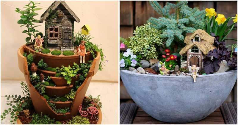 15 Fairy Garden Ideas That You Will Love
