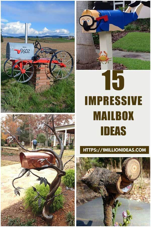 15 Impressive Mailbox Ideas That You Will Love
