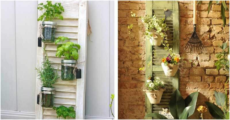16 Amazing Old Shutter Decor Ideas