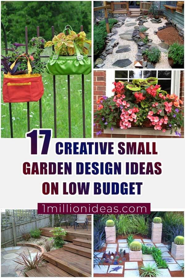 17 Creative Small Garden Designs On Low Budget