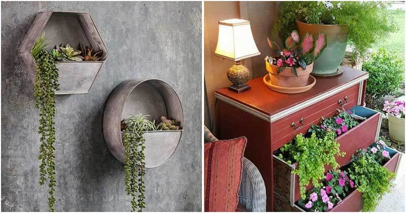 18 DIY Charming Vintage Garden Decor Ideas