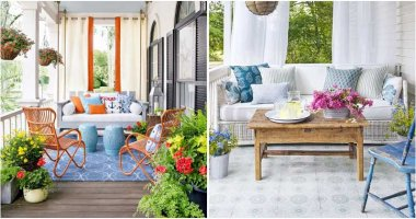 24 Ideas To Decorate Your Porch With Plants