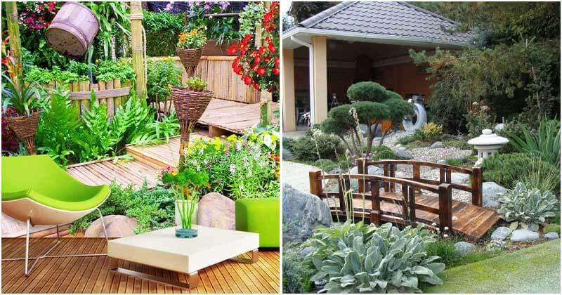 14 Stunning Oriental Garden Style Designs