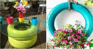 13 Adorable Tire Garden Ideas