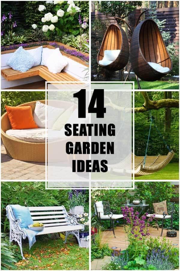 14 Seating Ideas That Brighten Up Your Garden