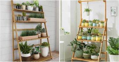 15 Impressive Indoor Ladder Planter Ideas For Your House