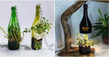 16 DIY Bottle Garden Ideas