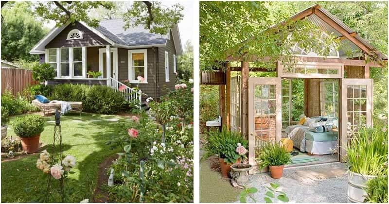 15 Garden House Designing Ideas