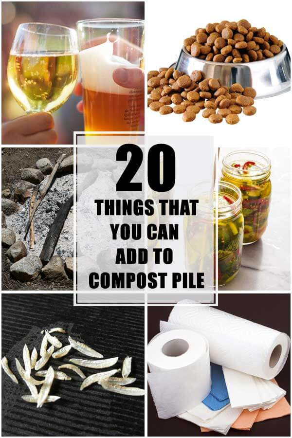 20 Things You Can Add To Your Compost Pile