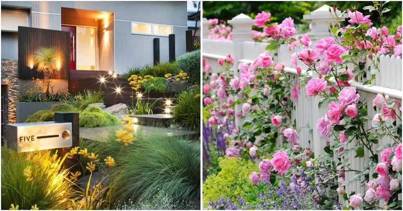 19 Brilliant Landscaping Ideas For Your Front Garden