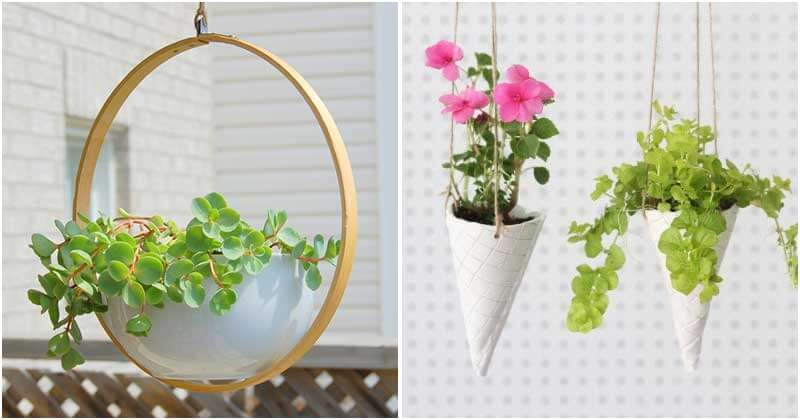 22 DIY Hanging Plant Ideas To Decorate Your House