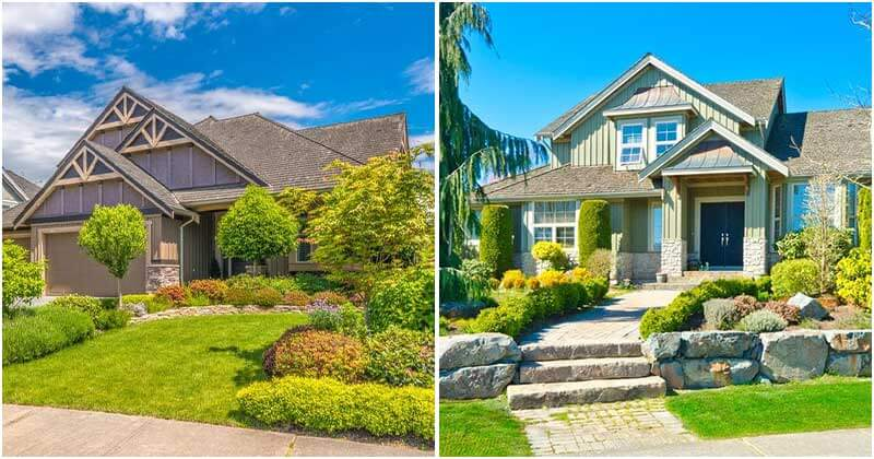 20 Mind-Blowing Front Yard Landscaping Designs