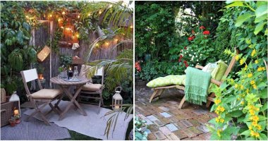 18 Appealing Small Patio Garden Ideas