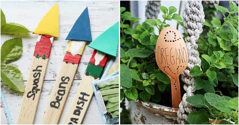 18 Creative Garden Marker Ideas