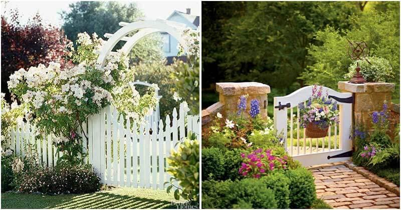 12 Appealing Garden Gates