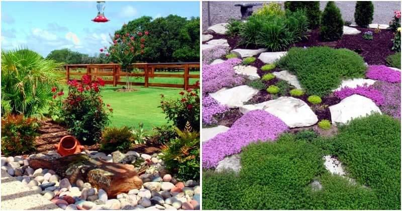 16 Stone Garden Decoration Ideas