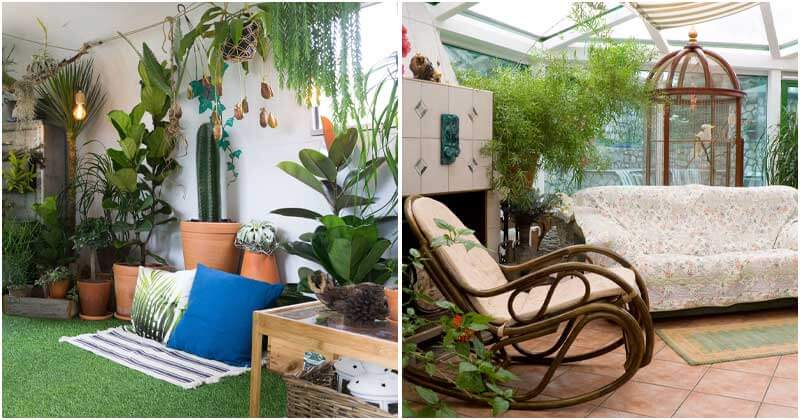 17 Cozy Apartment Garden Designs