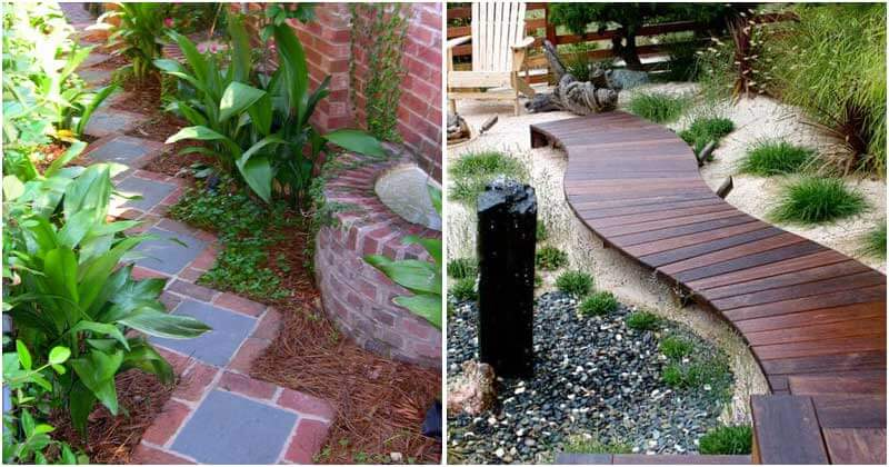 19 DIY Garden Path Ideas