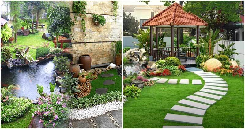10 Beautiful Backyard Garden Ideas