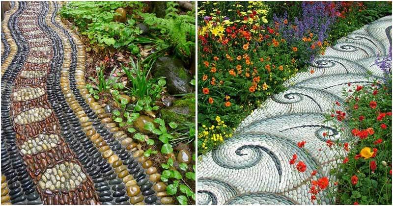 12 Artistic Stone Path Ideas For An Impressive Garden