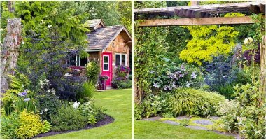 12 Ideas To Decorate Your Garden With Flower