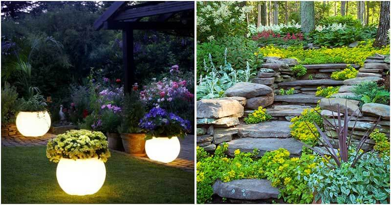 13 Amazing Garden Decoration Ideas To Enjoy Outside Air Atmosphere