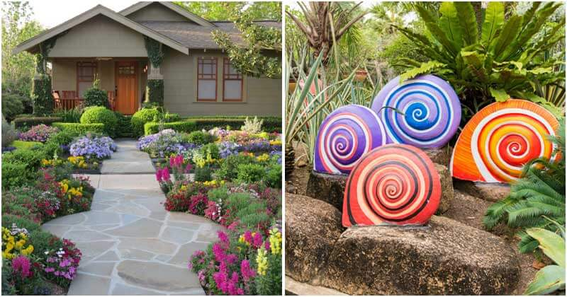 15 Creative and Cheap Ways to Liven Up Your Garden