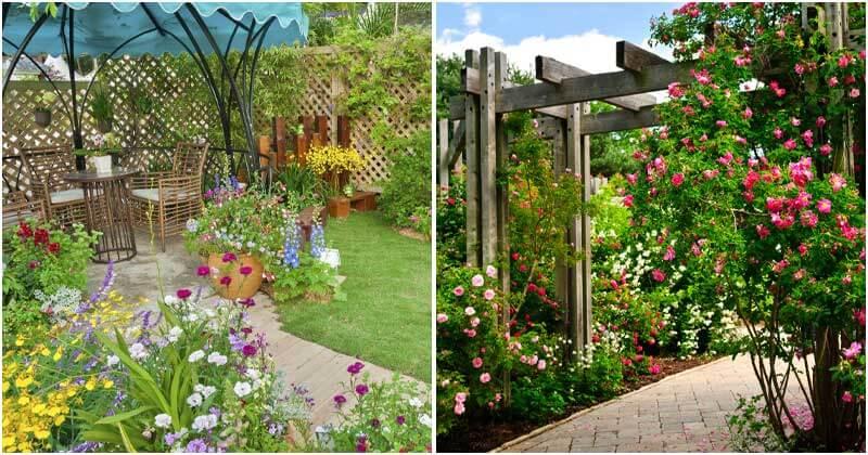 15 Impressive Backyard Garden Ideas