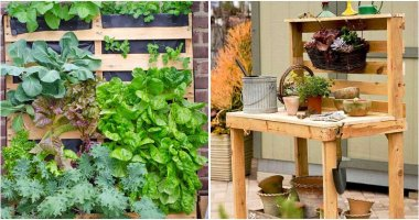 19 Creative Pallet Projects For Your Garden