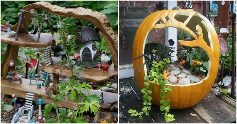 19 Fantastic Fairy Garden Ideas For Your Kids